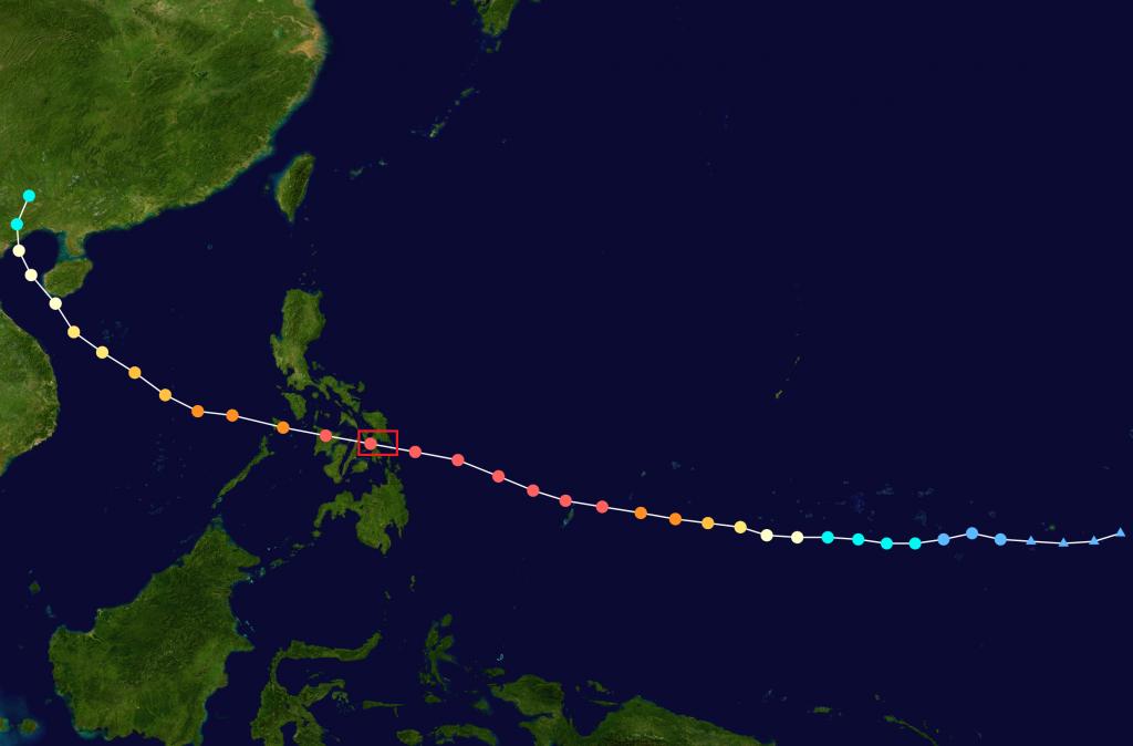 Haiyan_2013_track