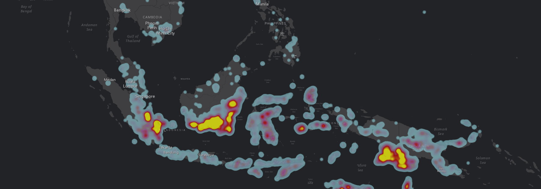 heatdensity map