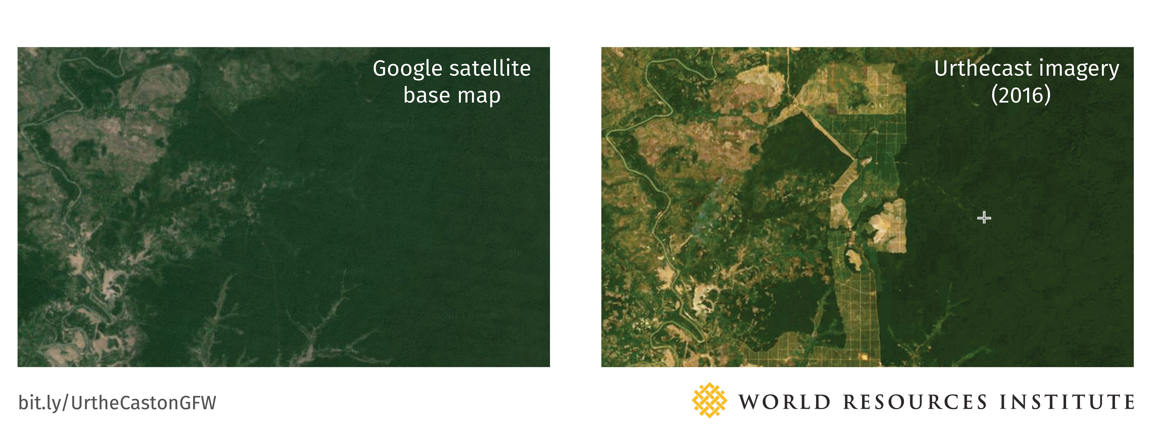 Google vs Urthecast Imagery