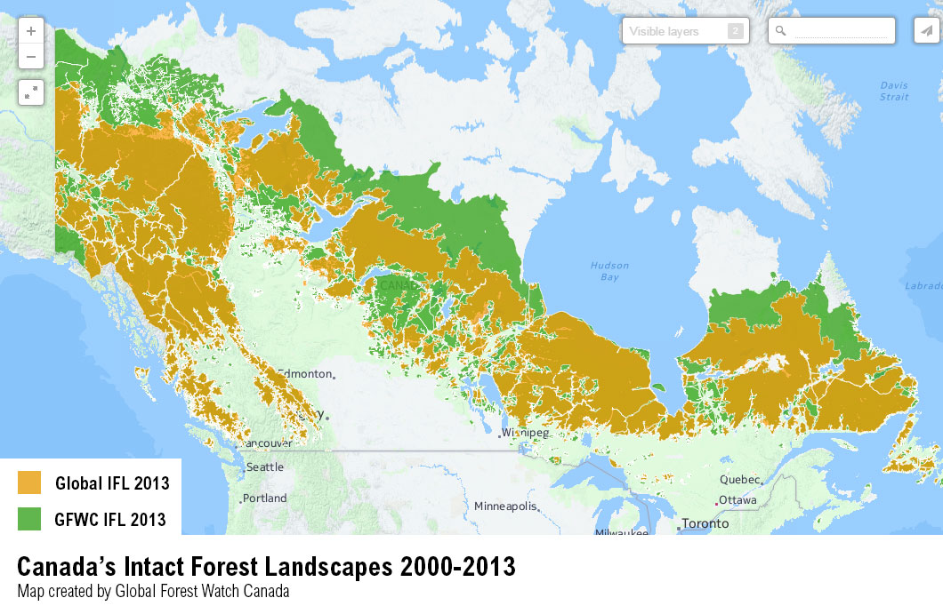 Canada Landscape Map PARTNER POST: A Fresh Look at Canada's Virgin Forests | Global