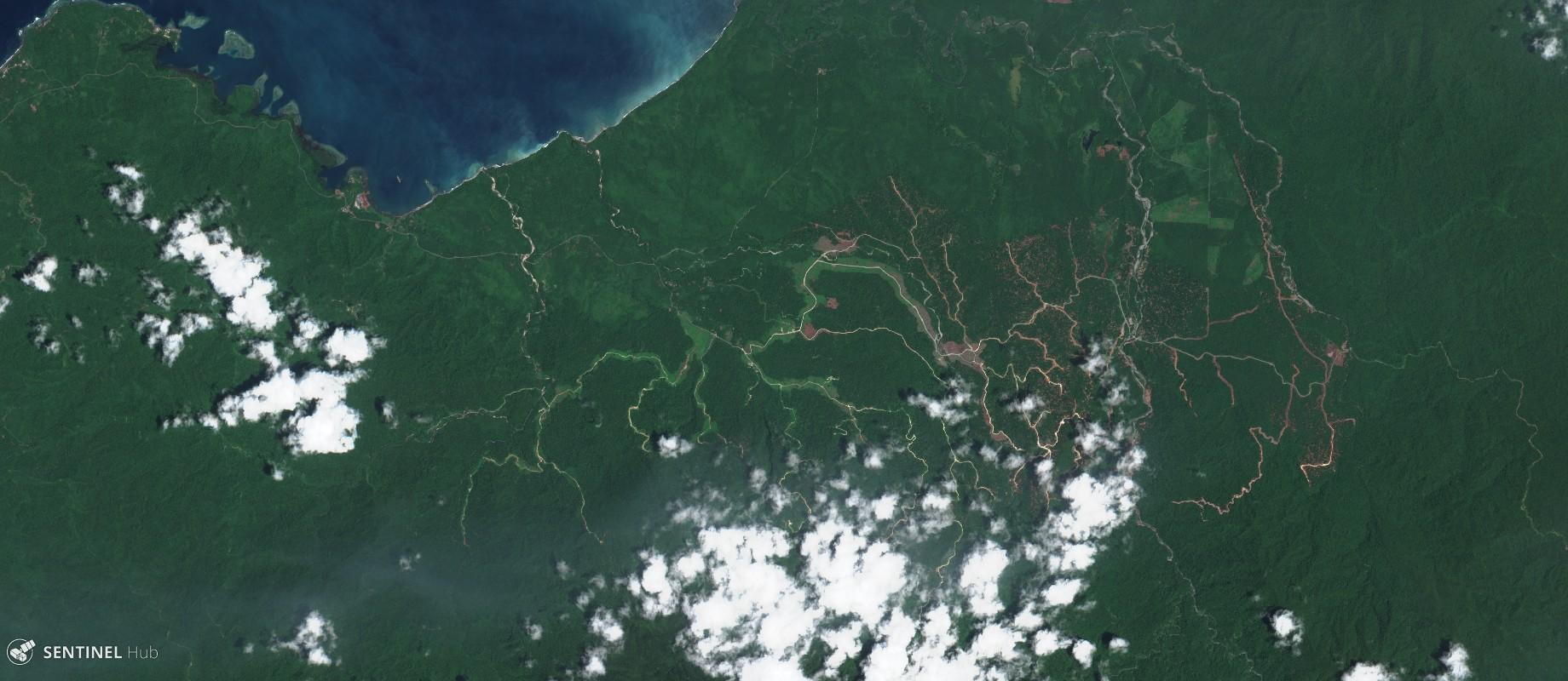 Sentinel-2 image on 2017-10-28